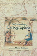 Book cover: Early American Cartographies