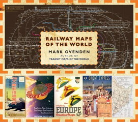 Book cover: Railway Maps of the World