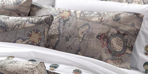 Map bedding from Cuddledown